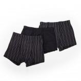 Lot de 3 boxers à rayures homme AZERTEX marque pas cher prix dégriffés destockage