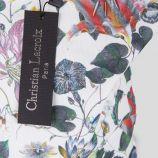 Cabas en tissu motifs floraux femme CHRISTIAN LACROIX marque pas cher prix dégriffés destockage