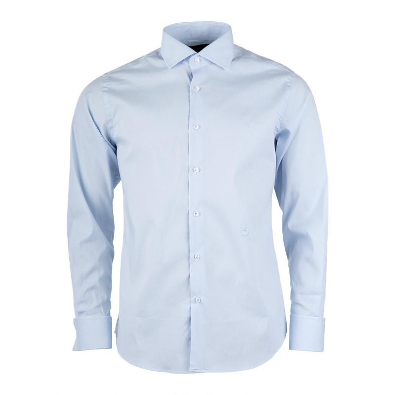 Chemise bleue ciel homme TRU TRUSSARDI marque pas cher prix dégriffés destockage