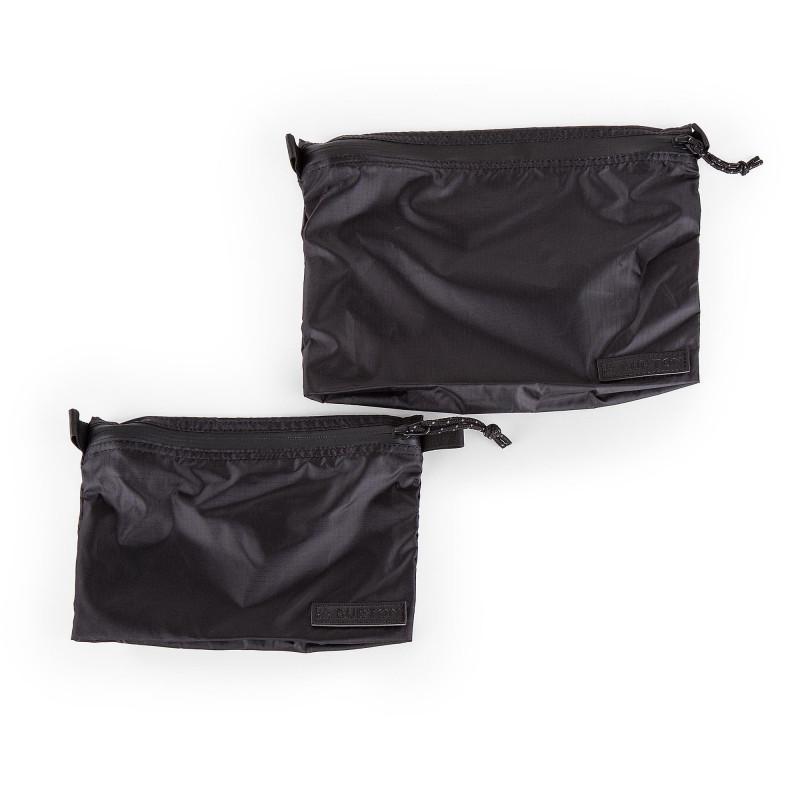 Set de 2 pochettes en nylon BURTON marque pas cher prix dégriffés destockage
