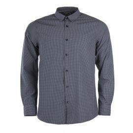 Chemise à carreaux gris et bleus homme BEST MOUNTAIN