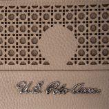 Porte-monnaie simili cuir femme US POLO marque pas cher prix dégriffés destockage