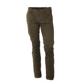 Pantalon chino vert losanges noirs homme DEEPEND marque pas cher prix dégriffés destockage