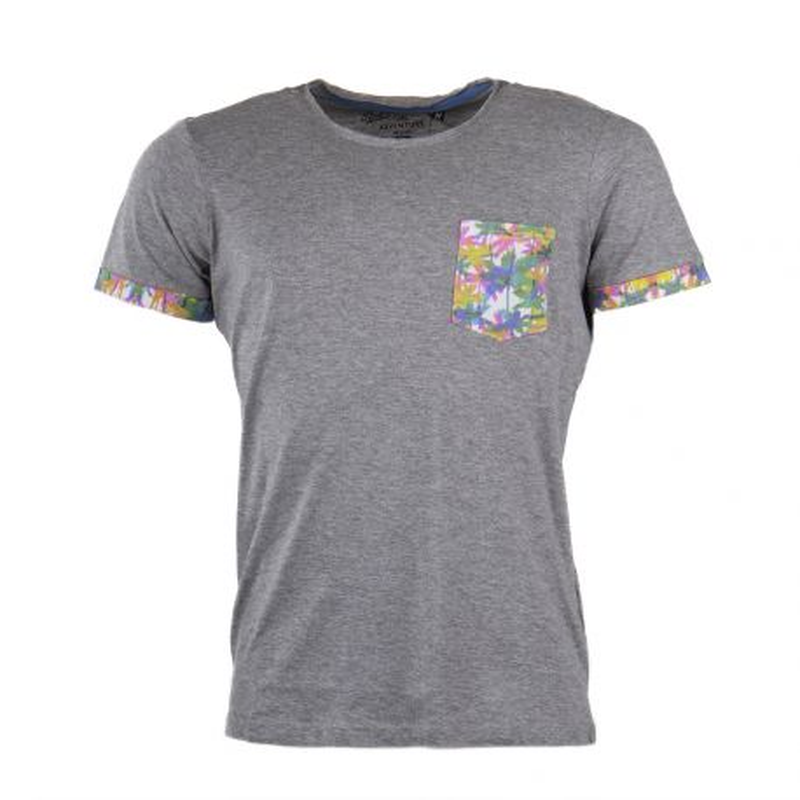 T-shirt manches courtes poche palmier homme BEST MOUNTAIN marque pas cher prix dégriffés destockage