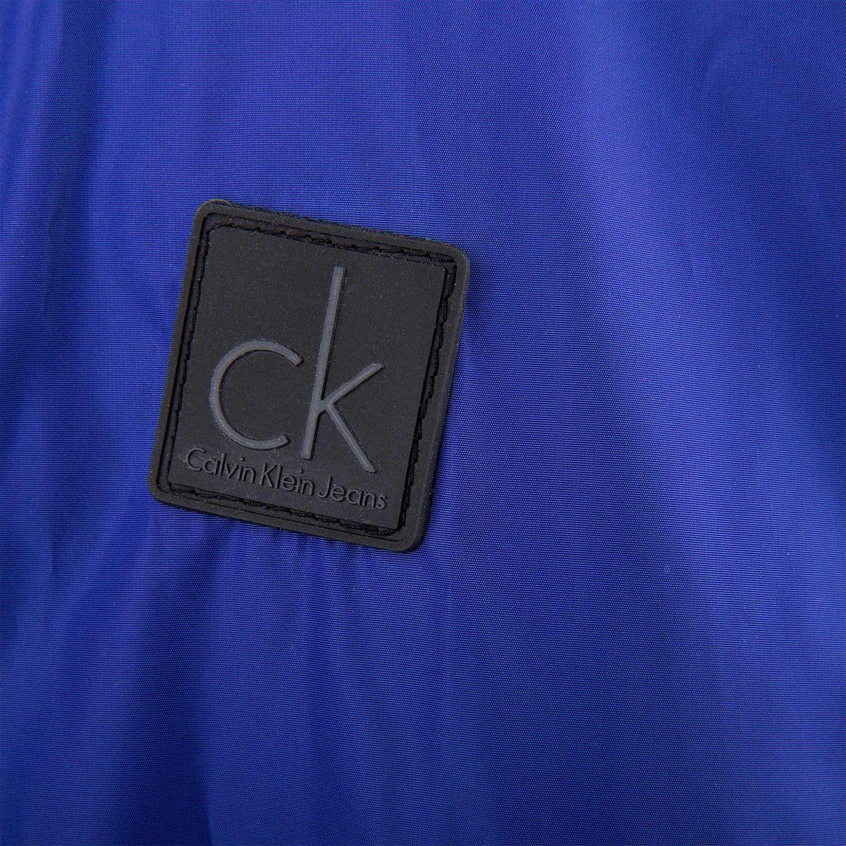 Veste Homme À Bleue Calvin Prix Coupe Dégriffé Vent Capuche Klein wag1w