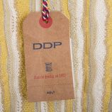 T-shirt manches 3/4 rayé pailleté femme DDP marque pas cher prix dégriffés destockage