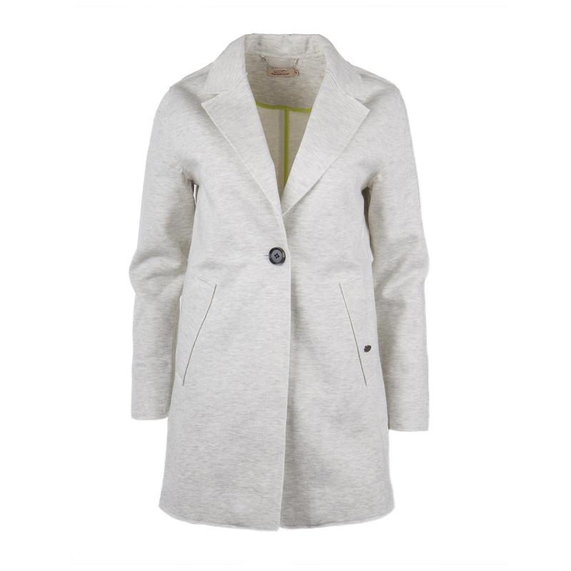 Veste blazer longue en jersey femme DDP marque pas cher prix dégriffés destockage