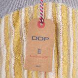 Robe dos nu jaune et argentée femme DDP marque pas cher prix dégriffés destockage