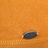 Pull fin épaules dénudées jaune moutarde femme DDP marque pas cher prix dégriffés destockage