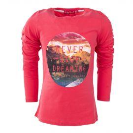 Tee shirt à inscription fille LITTLE MARCEL marque pas cher prix dégriffés destockage