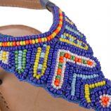 Sandales à perles multicolores fille NUAGE LES TROPEZIENNES marque pas cher prix dégriffés destockage