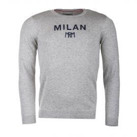 Pull gris MILAN homme LITTLE MARCEL