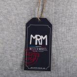 Pull gris MILAN homme LITTLE MARCEL marque pas cher prix dégriffés destockage