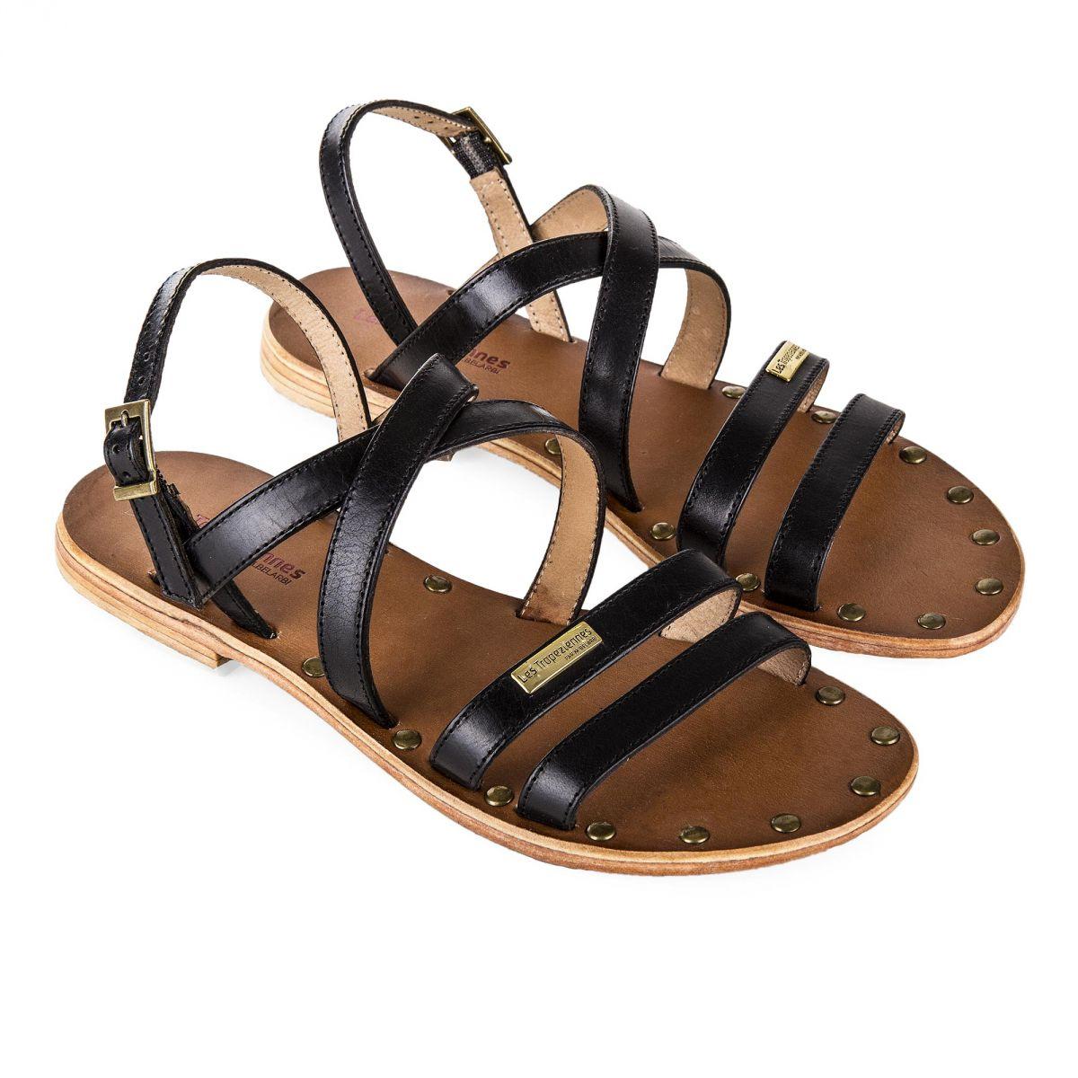 chaussures élégantes promotion spéciale Prix de gros 2019 Sandales en cuir femme HELIOS LES TROPEZIENNES à prix dégriffé !