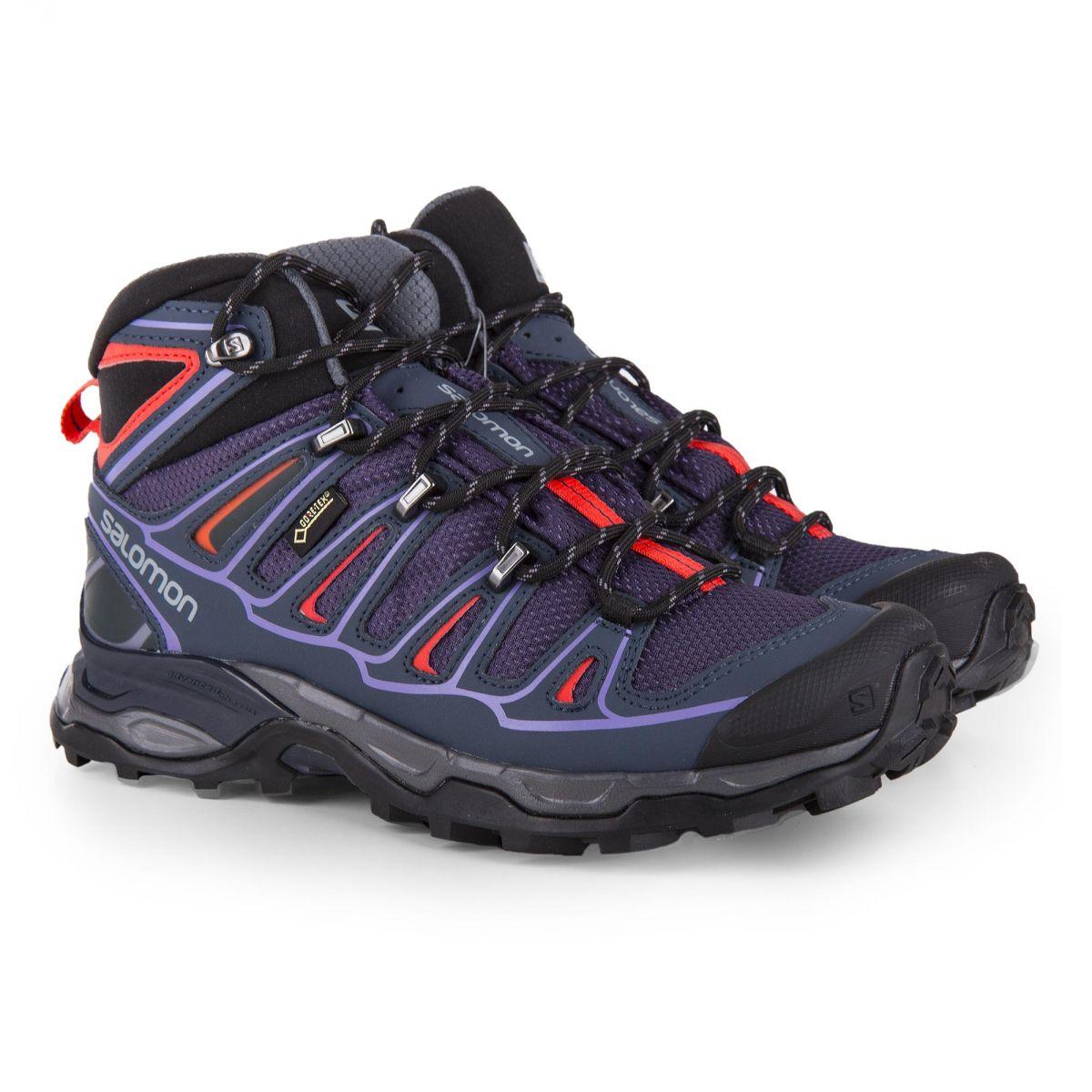 435f801a0db Gore Chaussures De Violette Tex Marche Femme Dégriffé Salomon Prix À  E9YDHW2I