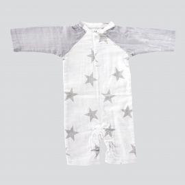 Combinaison motif étoiles bébé ADEN + ANAIS marque pas cher prix dégriffés destockage