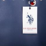 Cabas festonné détails œillets et clous + pochette femme US POLO marque pas cher prix dégriffés destockage