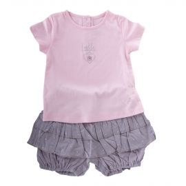 Ensemble tee shirt et short bébé ABSORBA