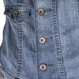 Salopette en jean bleu clair femme BEST MOUNTAIN marque pas cher prix dégriffés destockage