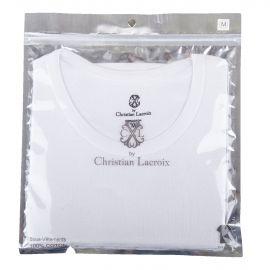 Tee shirt manches courtes à col rond homme CHRISTIAN LACROIX marque pas cher prix dégriffés destockage