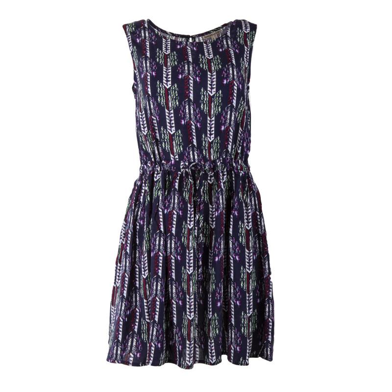 Robe violet à imprimés femme BEST MOUNTAIN marque pas cher prix dégriffés destockage