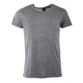 Tee shirt manches courtes chiné homme RED SOUL marque pas cher prix dégriffés destockage