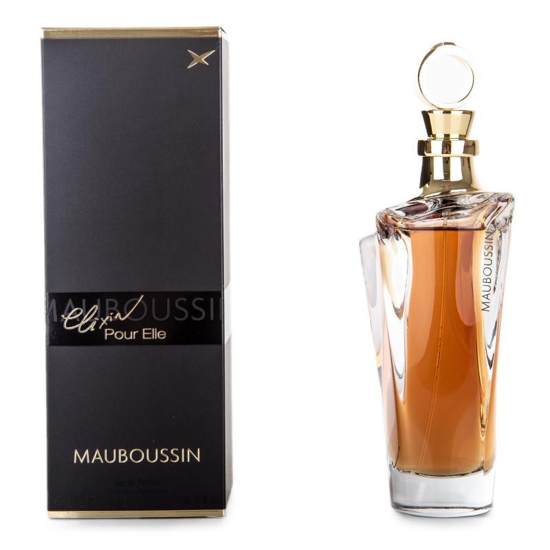 Eau de parfum Elixir 100 ml femme MAUBOUSSIN marque pas cher prix dégriffés destockage