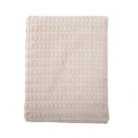 Drap de bain motifs texturés Vivove marque pas cher prix dégriffés destockage