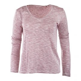Tee shirt chiné col V femme BEST MOUNTAIN
