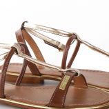Sandales bi-colores HAQUINA femme LES TROPEZIENNES marque pas cher prix dégriffés destockage