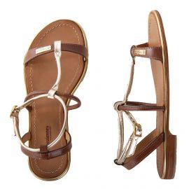 Sandales bi-colores HAQUINA femme LES TROPEZIENNES