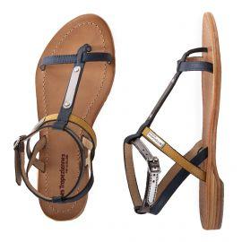Sandales détail coloré BAILY femme LES TROPEZIENNES