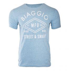 Tee-shirt manches courtes floqué homme BIAGGIO