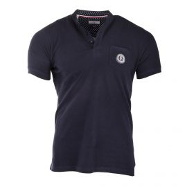 Polo manches courtes détail poche homme BIAGGIO