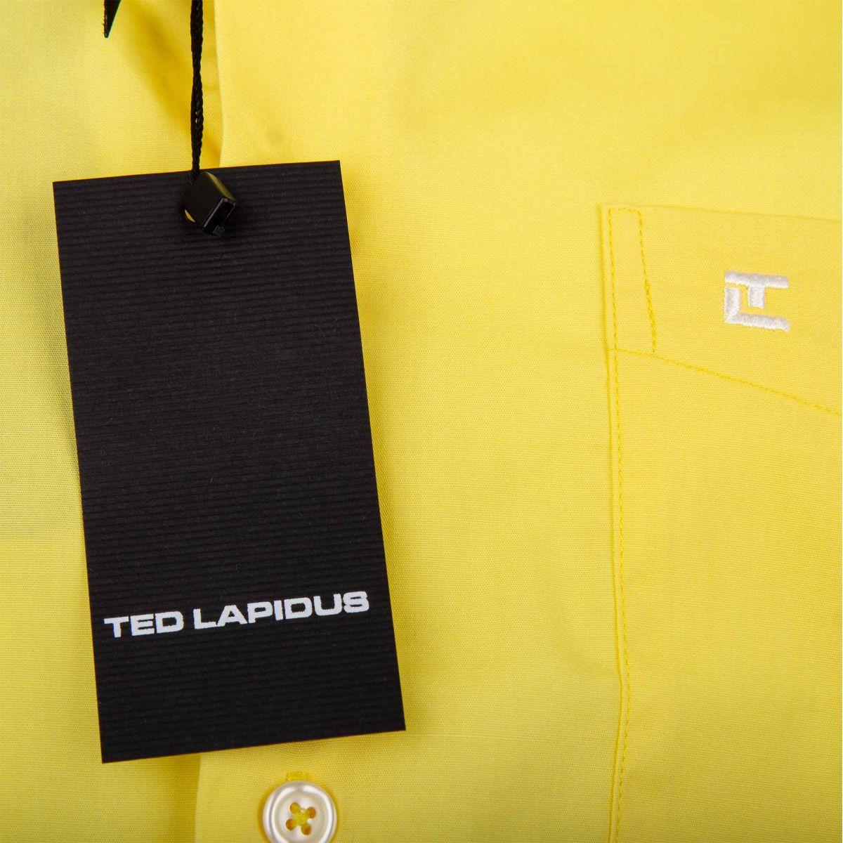 best website 99d11 98902 chemise-jaune-manches-courtes-homme-ted-lapidus.jpg