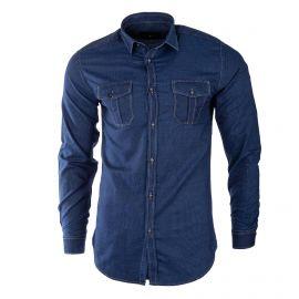 Chemise en jean homme TED LAPIDUS marque pas cher prix dégriffés destockage