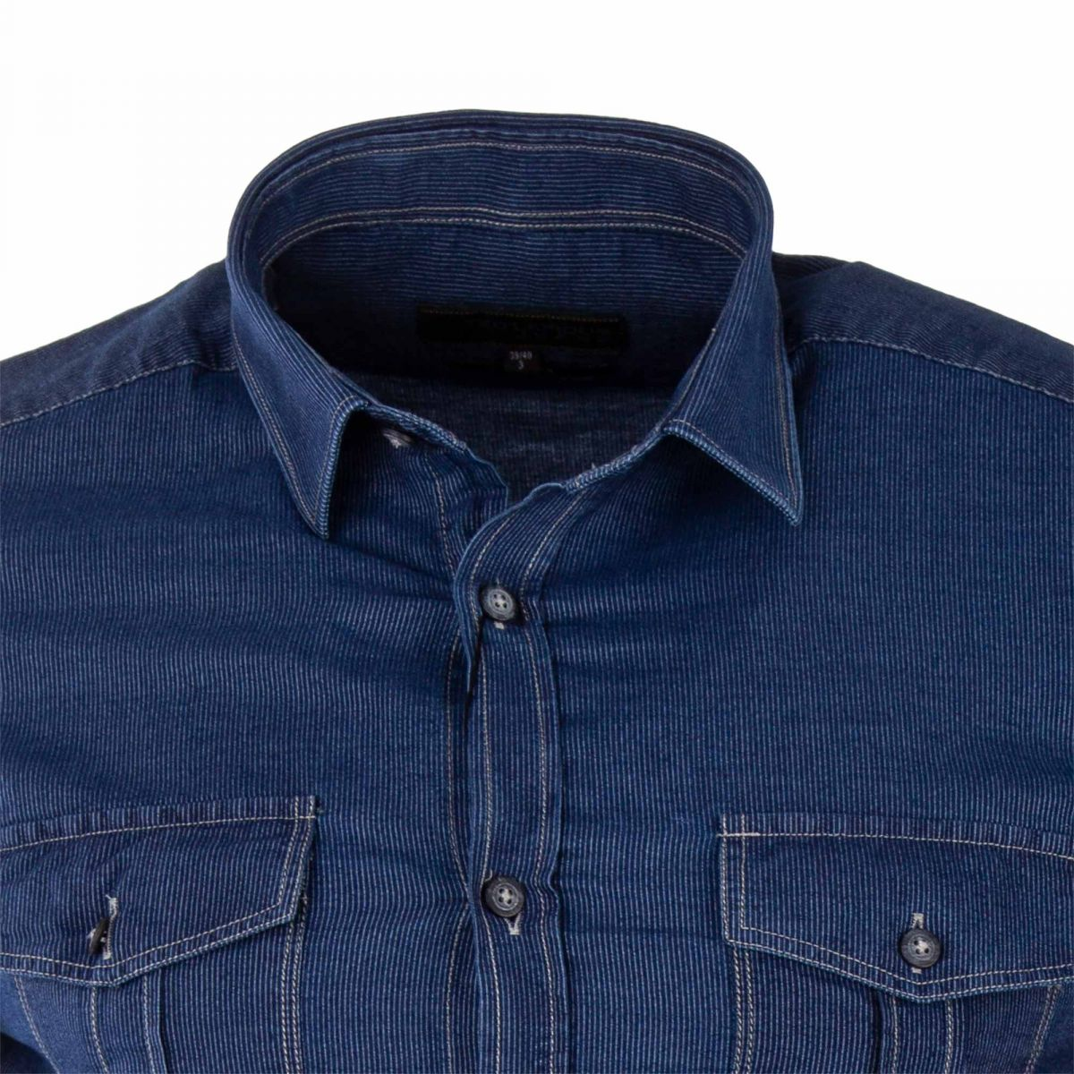chemise en jean homme ted lapidus prix d griff. Black Bedroom Furniture Sets. Home Design Ideas