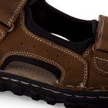 Sandales à scratch homme LAURENT ROADSIGN marque pas cher prix dégriffés destockage