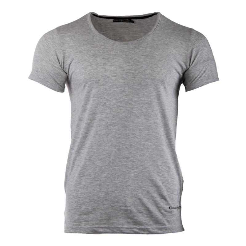 Tee-shirt uni manches courtes homme PACIOTTI marque pas cher prix dégriffés destockage