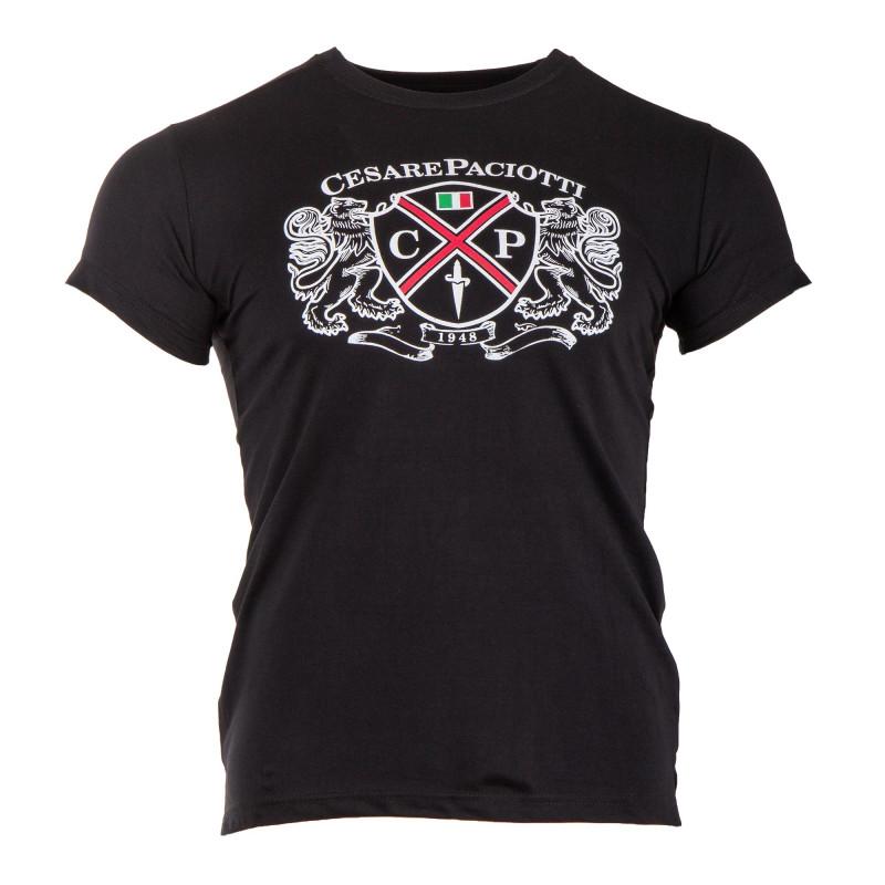 Tee-shirt emblème homme PACIOTTI marque pas cher prix dégriffés destockage