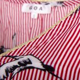 Robe fluide imprimés femme GOA marque pas cher prix dégriffés destockage