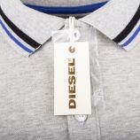 Polo avec liseré manches courtes homme T-OIN DIESEL marque pas cher prix dégriffés destockage