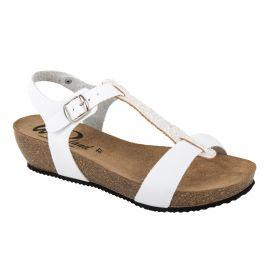 Sandales compensées bride à paillettes femme WHY LAND