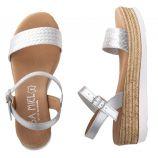 Sandales tressées à plateforme femme ISSA MIEL marque pas cher prix dégriffés destockage