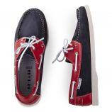 Chaussures bateau bi-colores homme ORLANDO marque pas cher prix dégriffés destockage