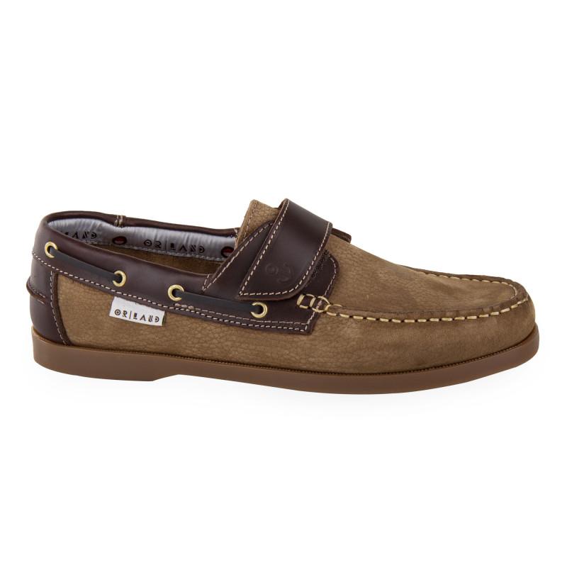 Chaussures bateau en cuir homme ORLANDO marque pas cher prix dégriffés destockage