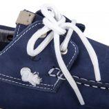 Chaussures bateau bleu en cuir homme ORLANDO marque pas cher prix dégriffés destockage
