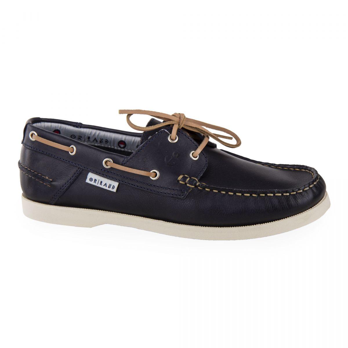 01b0c08c0adbaa ... Chaussures bateau tout cuir homme ORLANDO marque pas cher prix  dégriffés destockage ...