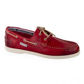 Chaussures bateau tout cuir homme ORLANDO
