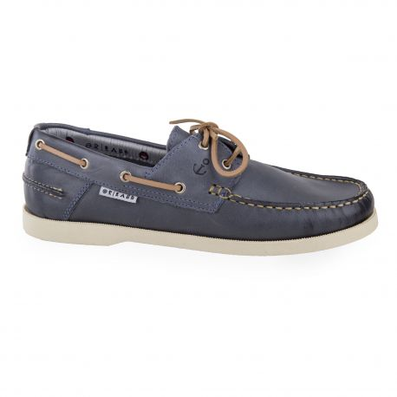 bc7f1884304a1 Chaussures bateau tout cuir homme ORLANDO marque pas cher prix dégriffés  destockage